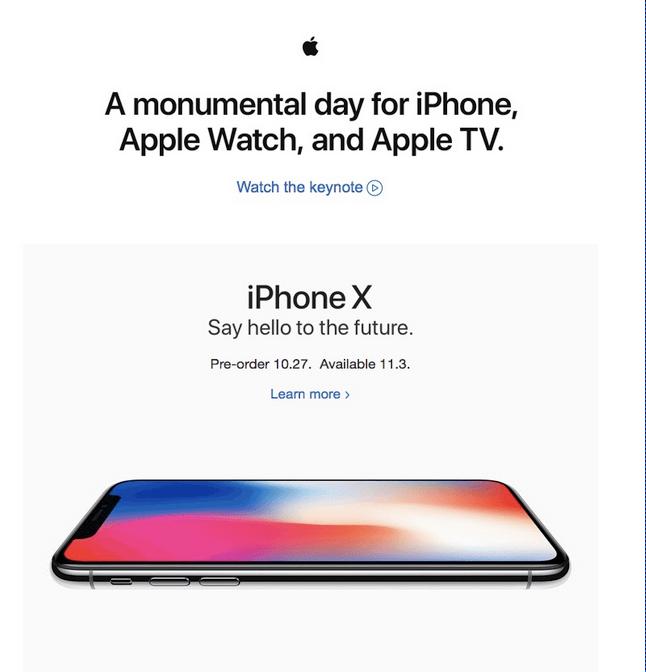 Comment faire un mailing commercial - Apple