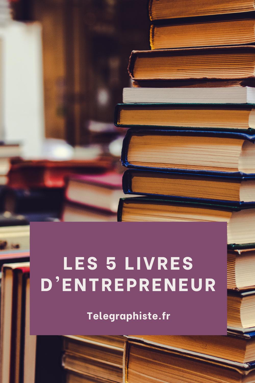 5 livres pour entrepreneur