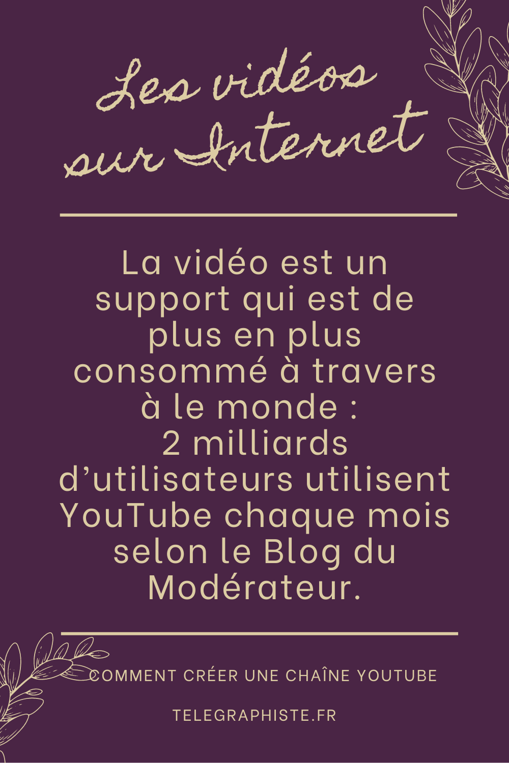 Créer une chaine Youtube 3