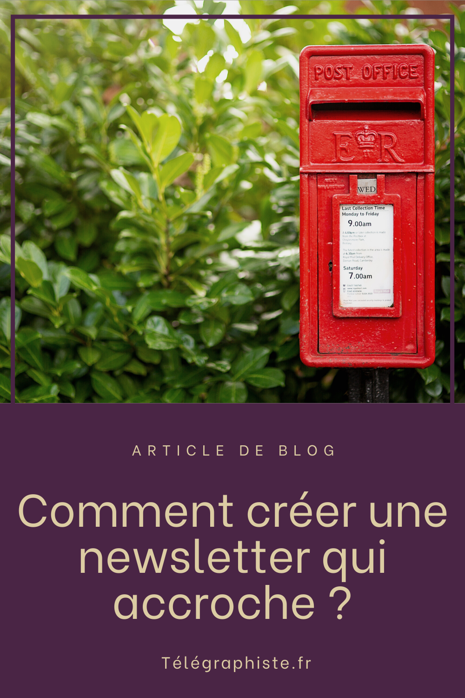 Créer une newsletter 1